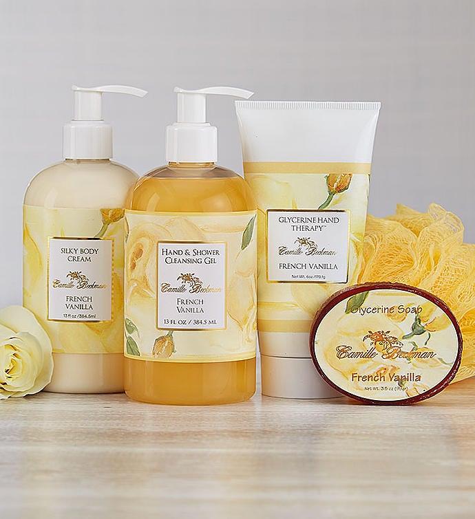Camille Beckman® Spa French Vanilla Gift Set Camille Beckman ® Spa French Vanilla Gift Set