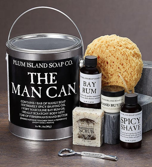 The Man Can-Men's Grooming Gift Set