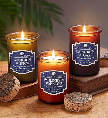 Northern Lights Spirit Jar Candle Trio