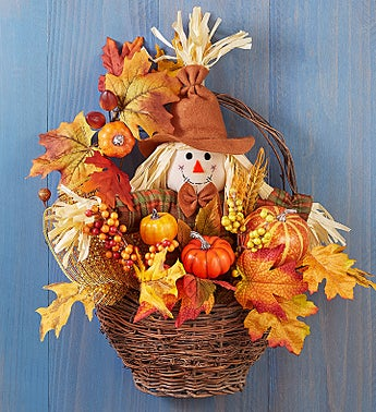 """Fall Scarecrow Basket-15"""