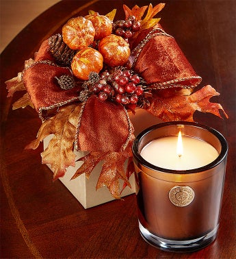 Lux Autumn Glow Candle