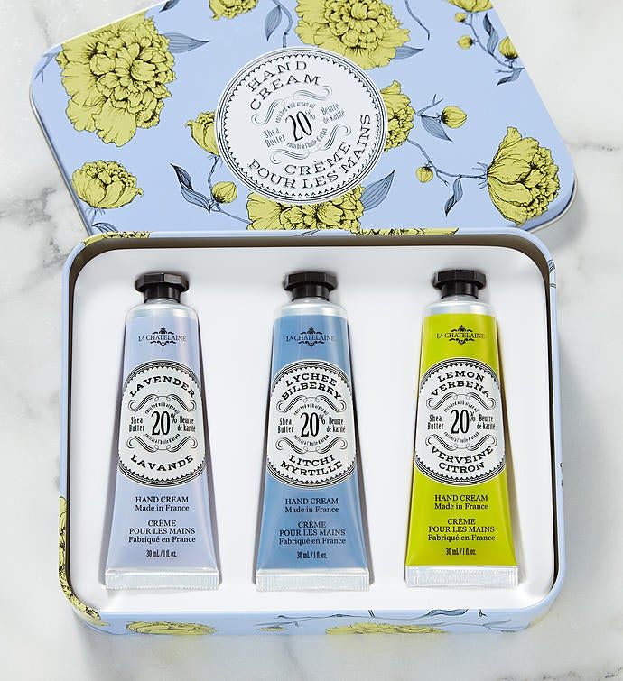 La Chatelaine Lavender Hand Cream Trio