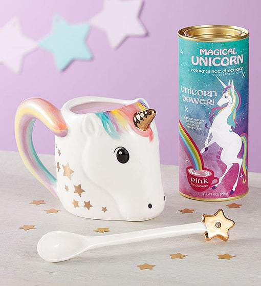 Unicorn Power Mug & Hot Cocoa