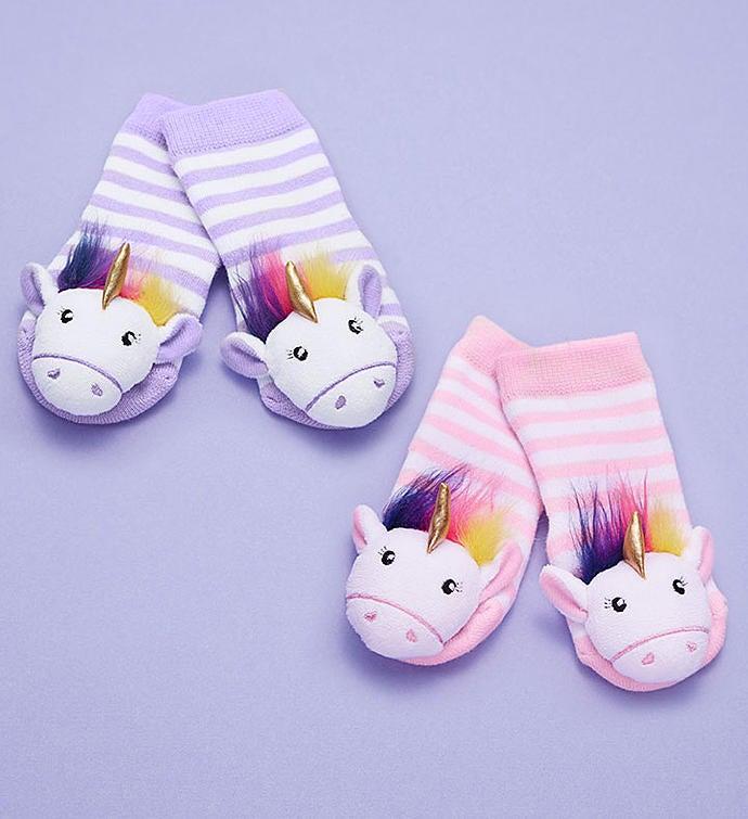 Baby Unicorn Bank Gift Set