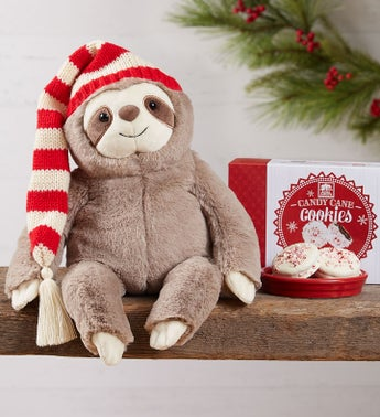 Gund® Christmas Sloth and Cookies