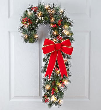 Candy Cane Door Décor -30