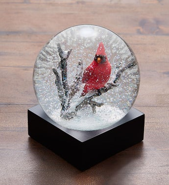 Cardinal Snow Globe by CoolSnowGlobes