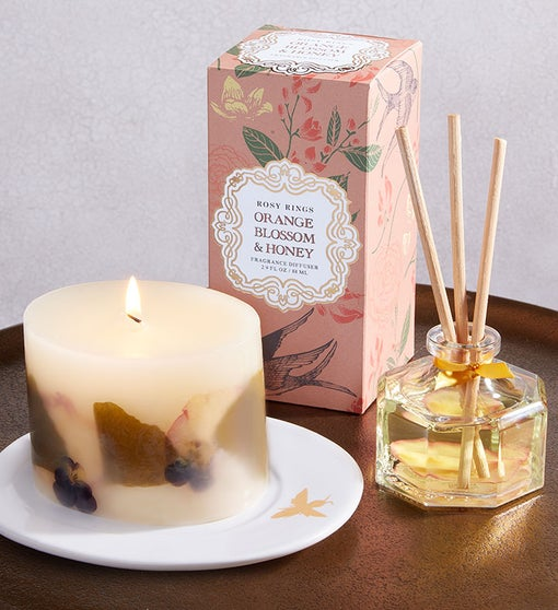 Rosy Rings Orange Blossom & Honey Gift Set