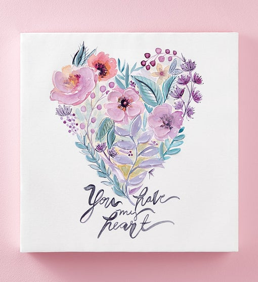 You Have My Heart Wall Canvas