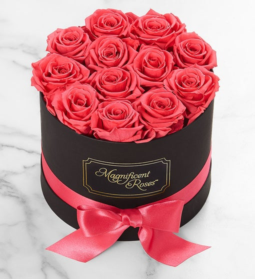 Magnificent Roses® Preserved  Hot Pink Roses