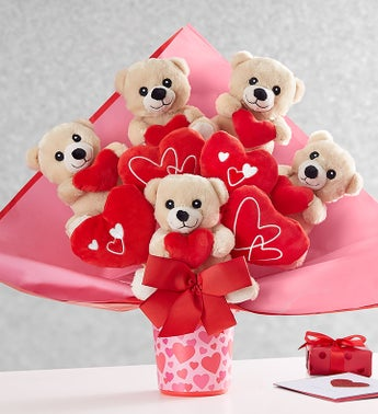 Lotsa Love® Romance Plush Bouquet