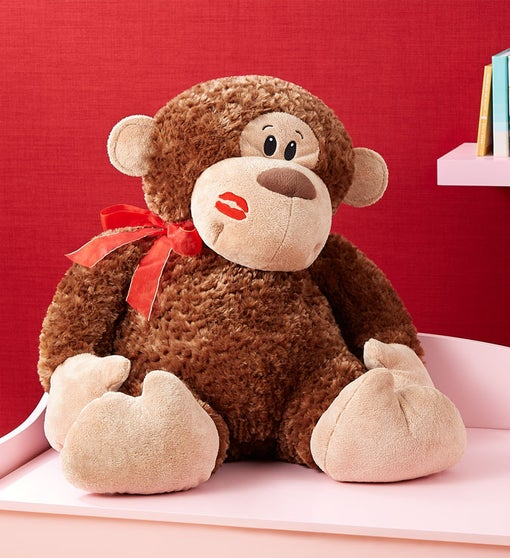 Monkey Love Plush