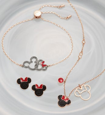 Swarovski® Mickey & Minnie Jewelry Set