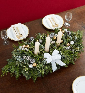 Extravagant Holiday Centerpiece