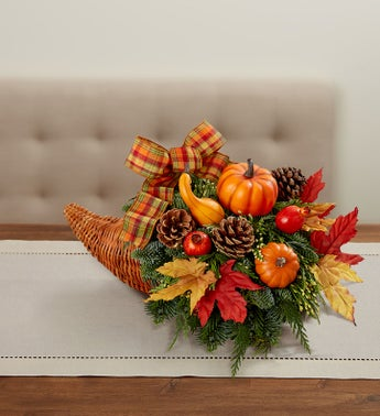Thanksgiving Traditions Cornucopia