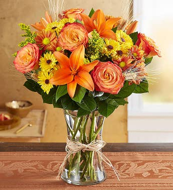 Thanksgiving flowers arrangements gifts