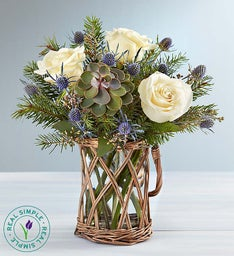Winter Frost Bouquet by Real Simple®