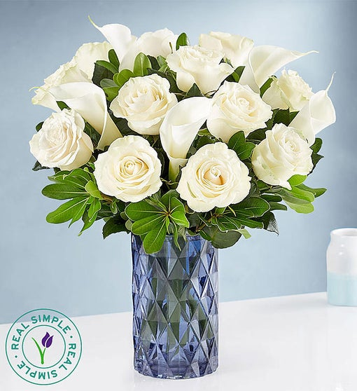 White Rose & Calla Lily by Real Simple®