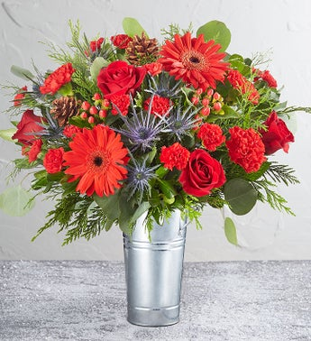 Wild Beauty Holiday Joy Bouquet