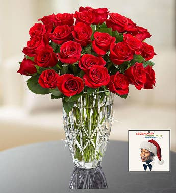 John Legend Holiday Album  Red Roses