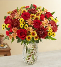 Fall Enchantment Bouquet + Free Vase