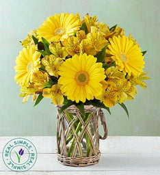 Sunshine & Happiness Bouquet by Real Simple®