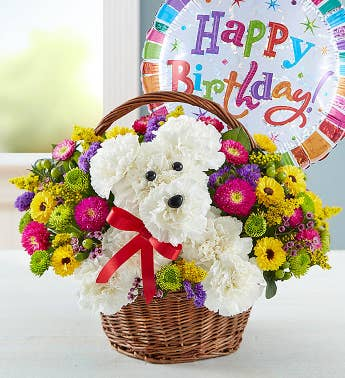 a-DOG-able® in a Basket Birthday