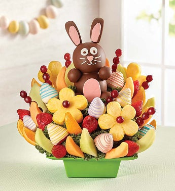 Last minute easter deals on all of the essentials 2017 get 20 with the code easterfb on any edible fruit arrangement from 1 800 flowers they make the perfect gift party bring along or centerpiece for negle Choice Image
