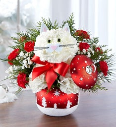 Fabulous Feline™ in Starry Night Ornament™