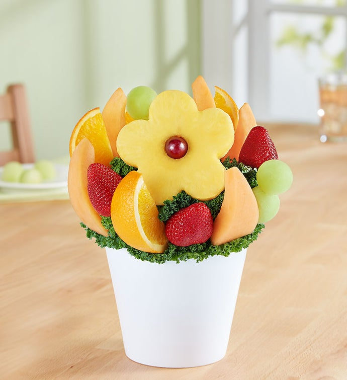 Delightful Daisy Treat™ | FruitBouquets.com - 161598