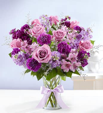 Purple Flowers | Purple Flower Arrangements & Bouquets | 1800Flowers