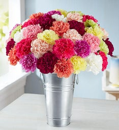 Colorful Carnation Bouquet