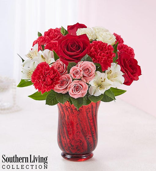 Valentine S Day Bouquet By Southern Living 1800flowers Com 161791