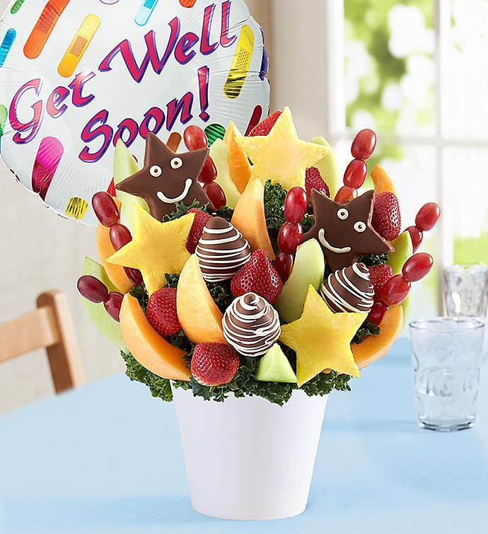 Sweet Get Well Wishes™   FruitBouquets.com - 161969