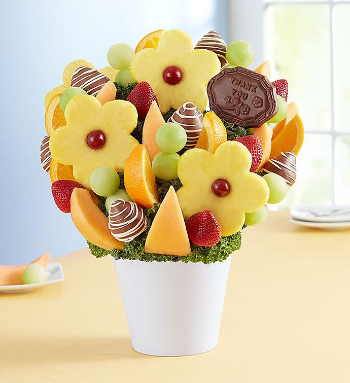Doubly Delicious™ Thank You | FruitBouquets.com - 163041