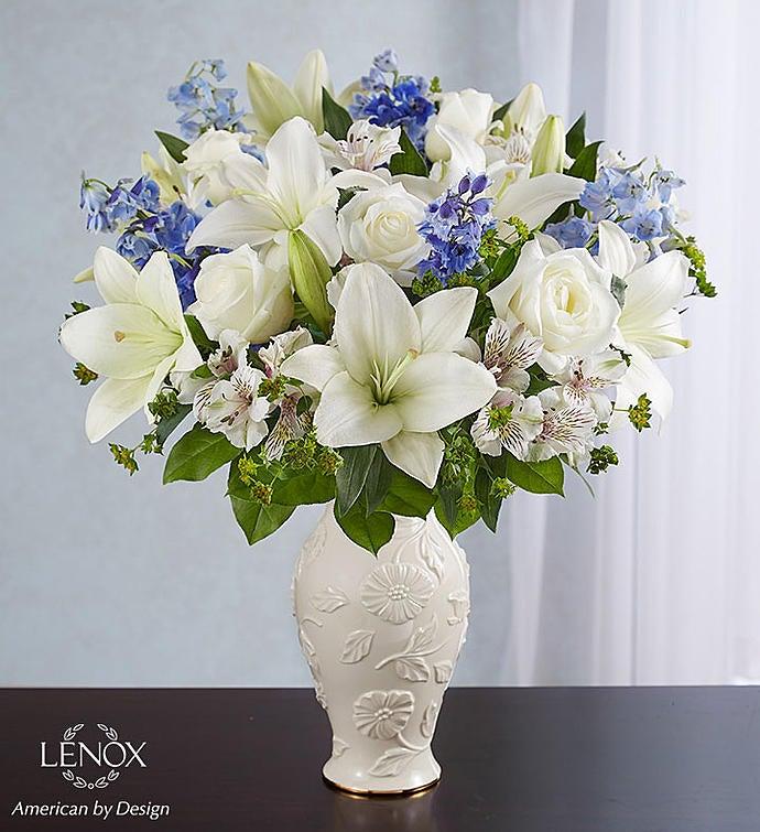 Loving Blooms Lenox Blue White 1800flowers 163079