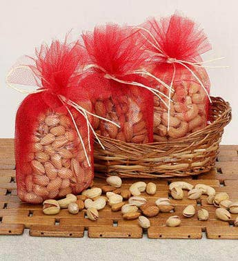 Basket Of Dry Fruits-Diwali Gift