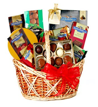 Chocoholics Basket