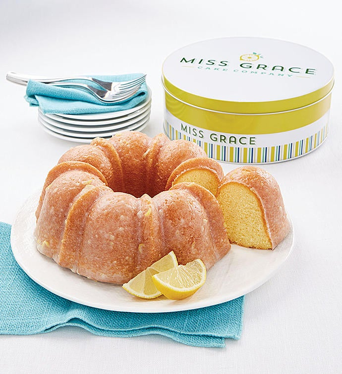Miss Grace Lemon Cake in Tin