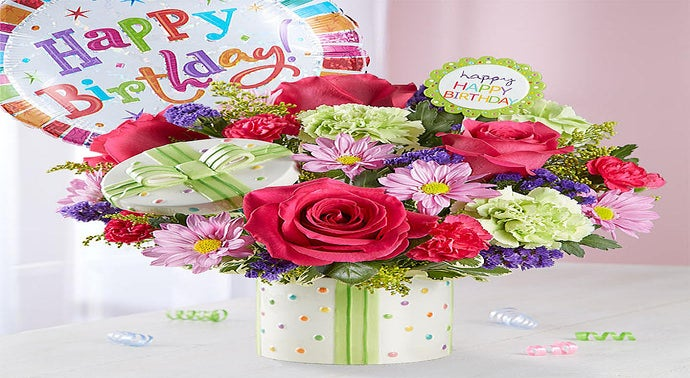 Birthday Flowers Bouquets Flower Arrangements 1800flowerscom