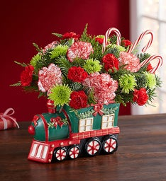 Candy Cane Express Train
