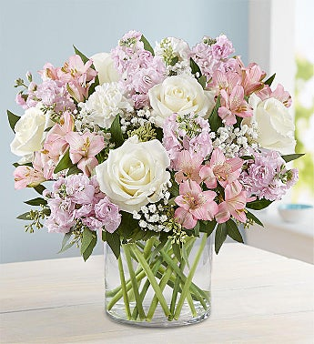 Elegant Blush™ Bouquet + Free Shipping