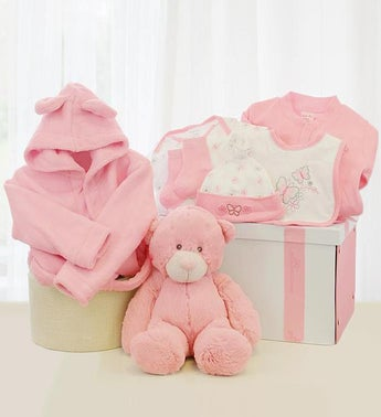 The Little Princess Baby Girl Basket