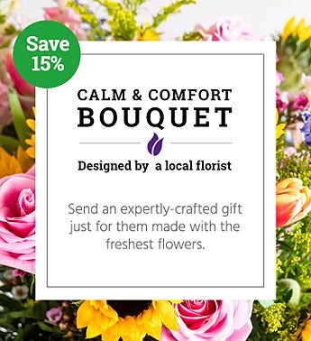 Calm & Comfort Bouquet | Local Florist Designed