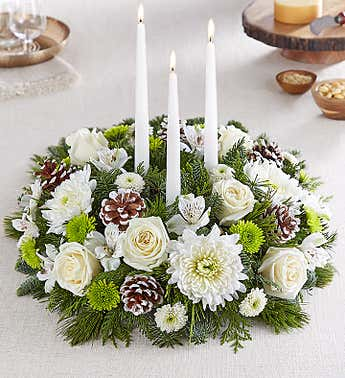 Winter's Charm™ Centerpiece