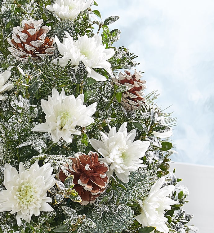 Winter's Snowfall™ Holiday Flower Tree® by Real Simple®