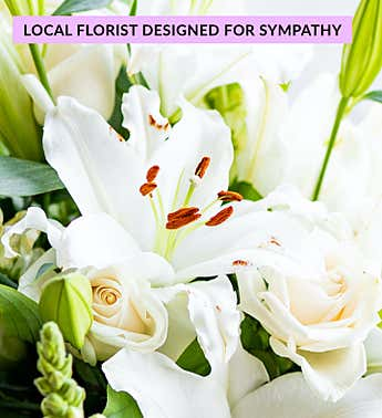 Calm & Comfort Bouquet for Sympathy