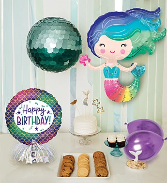 Mermaid Balloon Party Kit