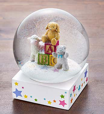 ABC Blocks Snow Globe by CoolSnowGlobes