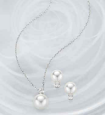 Swarovski ® Treasure Pearl Set